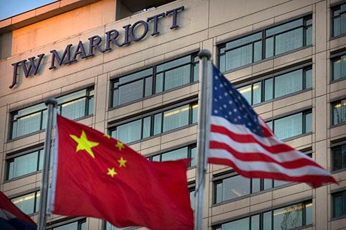 米国系大手ホテルチェーン・マリオットインターナショナルは、台湾を「国扱い」したことを中国に謝罪した(写真:AP/アフロ)