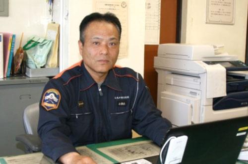 「日ごろの訓練と経験があってこその現場の判断」と語った小清水隊長(写真提供・北九州市消防局)