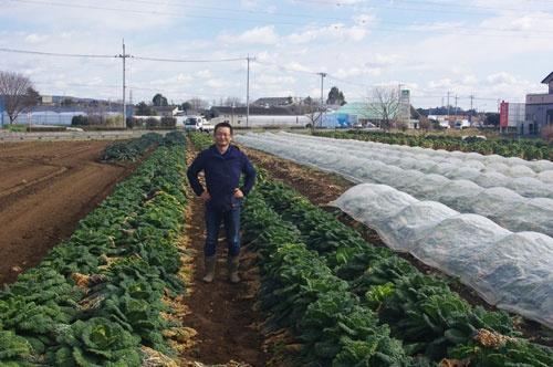 年間50種類以上の野菜を生産する久松農園の久松達央代表取締役