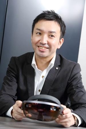 JALでHoloLensプロジェクトマネージャーを務める澤雄介氏(写真:北山 宏一)