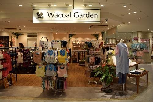 「ワコールガーデン ラスカ茅ヶ崎店」。売り上げは当初予想を上回って推移している
