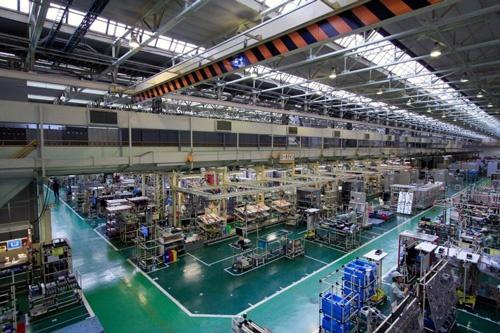 日立の大みか事業所(茨城県日立市)にはルマーダベースの生産管理システムを導入済み