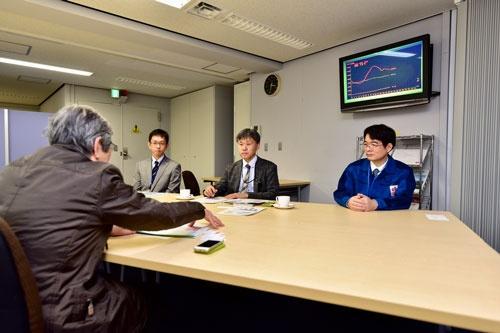 左から松田隆司氏、堀内信幸氏、滝澤栄氏