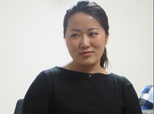 防災ガール代表の田中美咲さん。本インタビューは4月に実施したが、その後、熊本地震の際には現地に行って防災ガールとしての活動を先導した