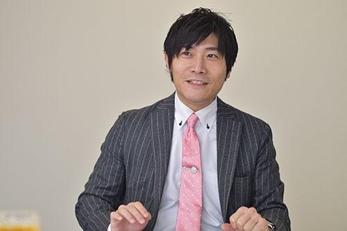 日本の魅力を台湾に伝えるジーリーメディアの吉田社長(写真:菊池一郎、以下同)