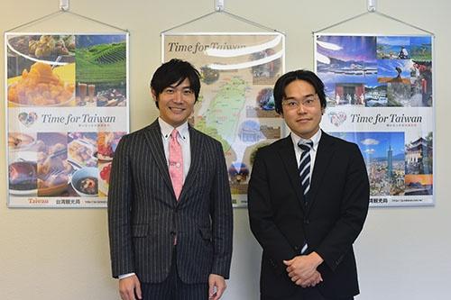 吉田社長(左)と、聞き手であるトーマツ ベンチャーサポートの斎藤統括本部長