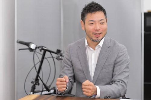 DG TAKANOの高野雅彰社長(写真:菊池一郎、以下同)