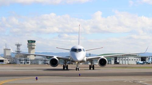 開発中の国産旅客機「MRJ」