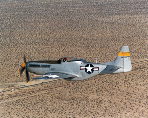 P-51戦闘機(画像:NASA)