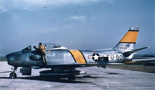 F-86戦闘機(画像:米空軍)