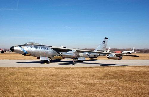 B-47爆撃機。写真の機体は偵察型のRB-47(画像:米空軍)