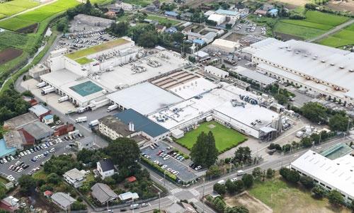 このとき購入した土地に作られた、群馬県前橋市の相模屋食料第三工場