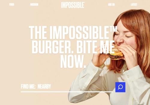 アメリカで知名度を上げつつあるインポッシブルバーガー