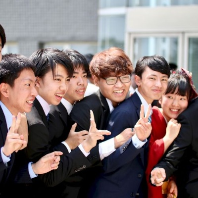 APUには個性豊かな学生たちが国内外から集まっている