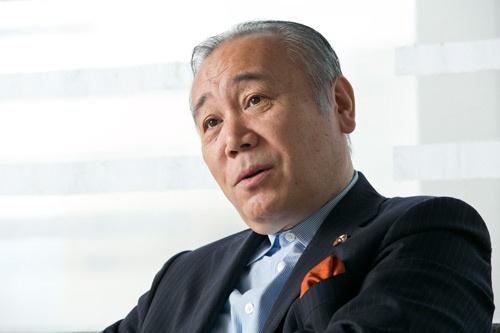 クールジャパン機構の社長を務める太田伸之氏(撮影:的野 弘路、以下同)