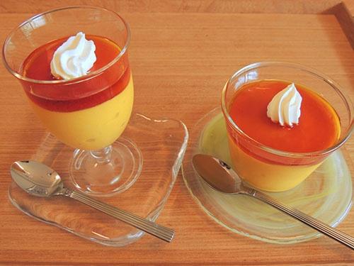 「焼かないかぼちゃのプリン」はなんと、材料を混ぜるだけで作れる。その秘密は…