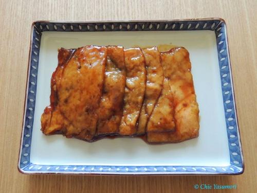 牛豚ひき肉のふわふわシート肉の焼肉