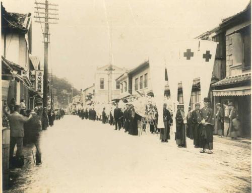 明治時代の有田の町並み(写真:香蘭社)