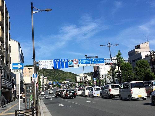 村井兄弟商会は京都の中心部にあった