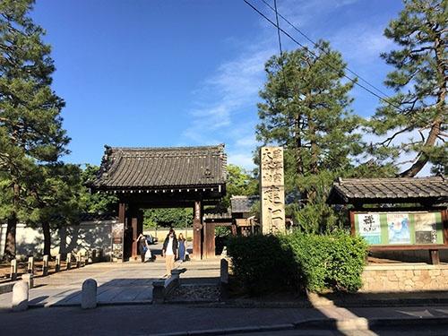 明治時代、京都博覧会のメイン会場のひとつになった建仁寺