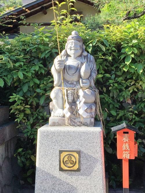 京都ゑびす神社の恵比寿神(えべっさん)