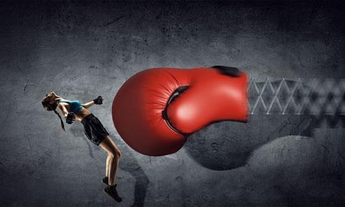 大企業に、正面から戦いを挑んではいけない!(写真:PIXTA)