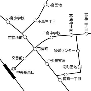 注:この路線図は筆者制作のサンプルです(以下同)