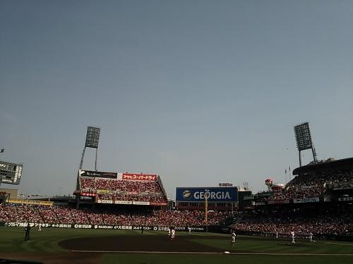 野球も、それ以外も楽しめるマツダスタジアム