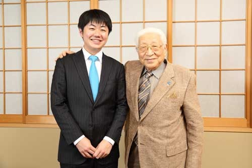 昨年、逝去した堀場氏と、2年前に対談(写真/大亀京助)
