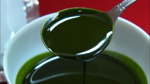 ペースト状の抹茶を開発