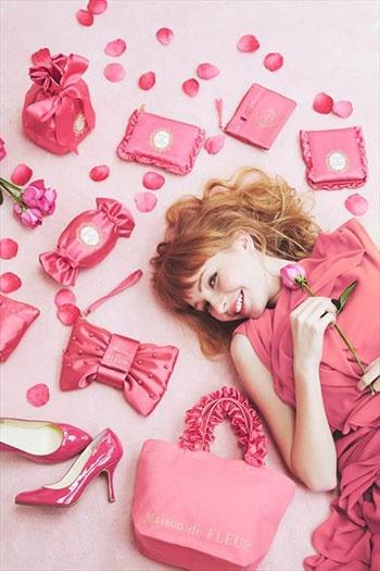女性向け雑貨のブランド「Maison de FLEUR」は新規事業のひとつ