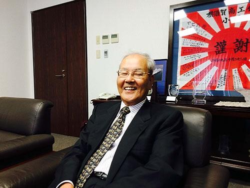 内川晋氏(77歳)。1998年から2008年までトヨタグループ、関東自動車工業(現トヨタ自動車東日本)の社長、会長を務めた