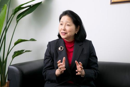 G&Sグローバルアドバイザーズ社長の橘・フクシマ・咲江氏(写真:的野 弘路)