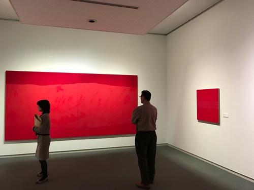 川城夏未さんの作品の展示風景