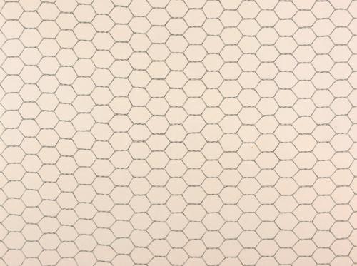 《ドローイング 金網》(部分)(1977年、個人蔵)<br>全幅17メートル。ひたすら金網だけの描写が続く、異様な作品だ