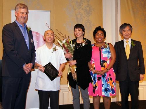 写真1●「Taste of Japan Honorary Awards」の授賞式
