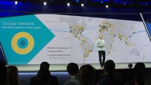 写真2●世界182カ国に広がるGoogleのネットワーク網