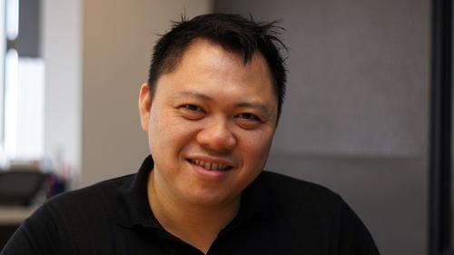 写真1●OperatorのCEO(最高経営責任者)であるRobin Chan氏