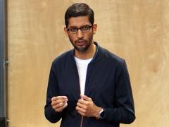 写真1●米GoogleのSundar Pichai CEO(最高経営責任者)
