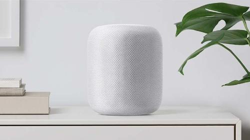 写真●米Appleのスピーカー端末「HomePod」