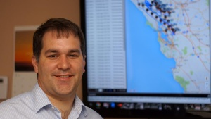写真2●米TerrAvionのRobert Morris CEO(最高経営責任者)兼創業者