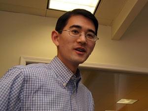 写真2●PercolataのGreg Tanaka CEO