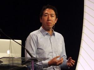 写真1●中国の百度(Baidu)の呉恩達(Andrew NG)氏