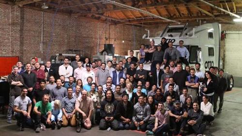 写真●米Uber Technologiesが公表していたOttoのメンバー写真