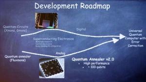 写真1●Googleが発表した量子コンピュータの開発計画