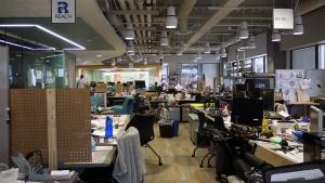 写真1●「Qualcomm Robotics Accelerator」のオフィス