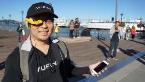 写真8●米Vufineの高坂 悟郎CEO