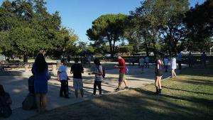写真12●クパチーノの「メモリアルパーク」に集まるプレーヤー