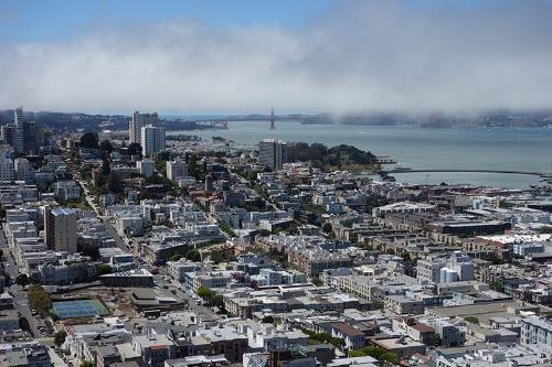 写真●年収1000万円越えでも暮らしていくのが難しくなったサンフランシスコ市内