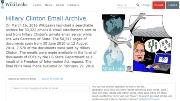 写真●WikiLeaksのWebサイト
